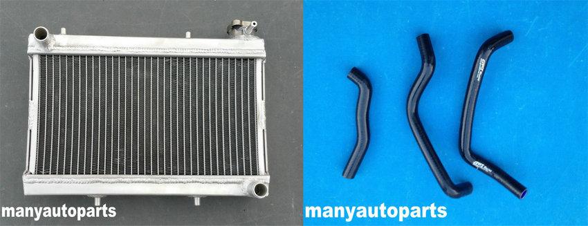 Aluminum Radiator for HONDA TRX250 TRX250R TRX 250 1988 1989 88 89