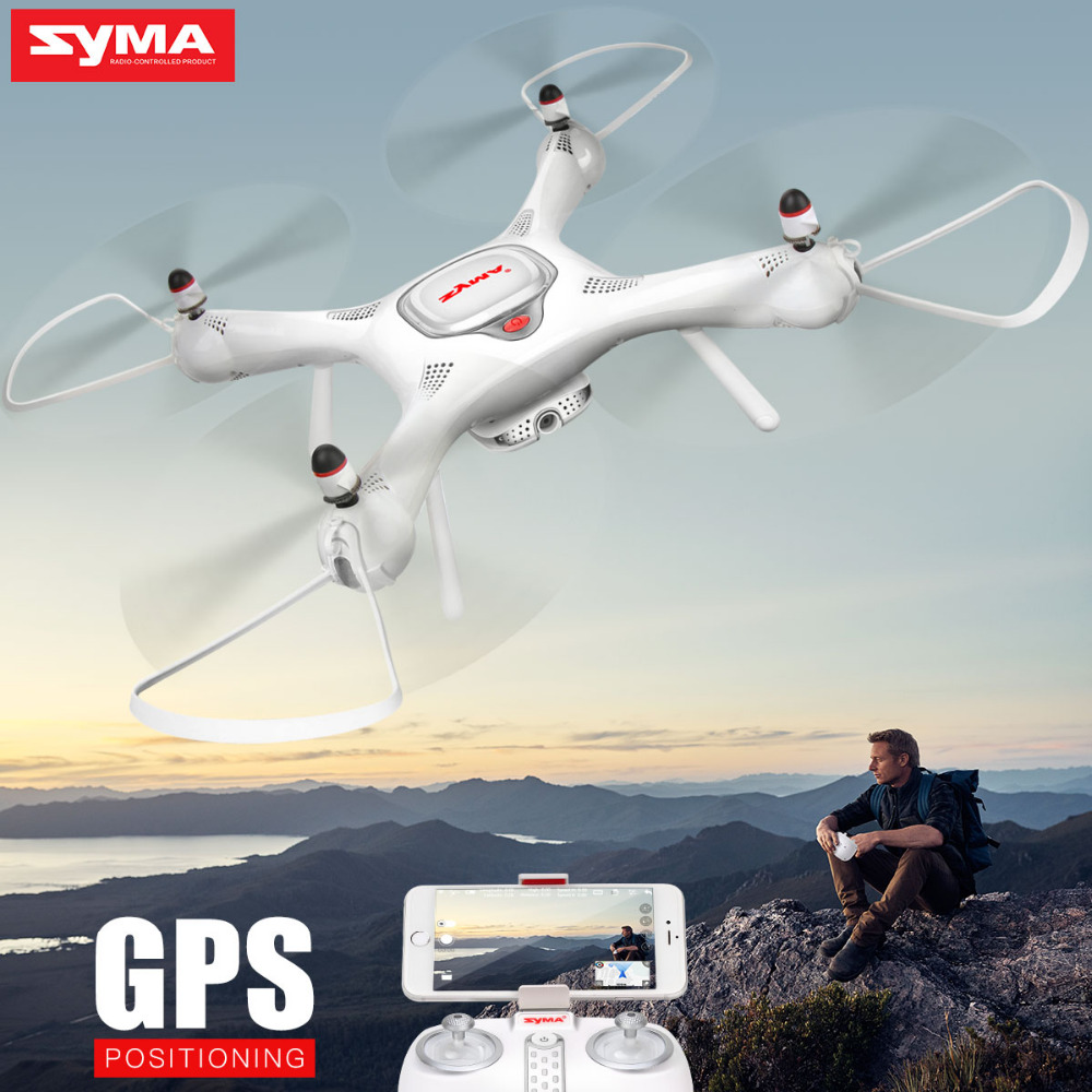 SYMA X25PRO RC Airplane Selfie Remote Control Drone Quadcopter With HD Camera WIFI FPV Transmission GPS Function Drone Toy Gift syma x8w rc drone wifi fpv camera hd video remote control led quadcopter toy helicoptero air plane aircraft children kid gift