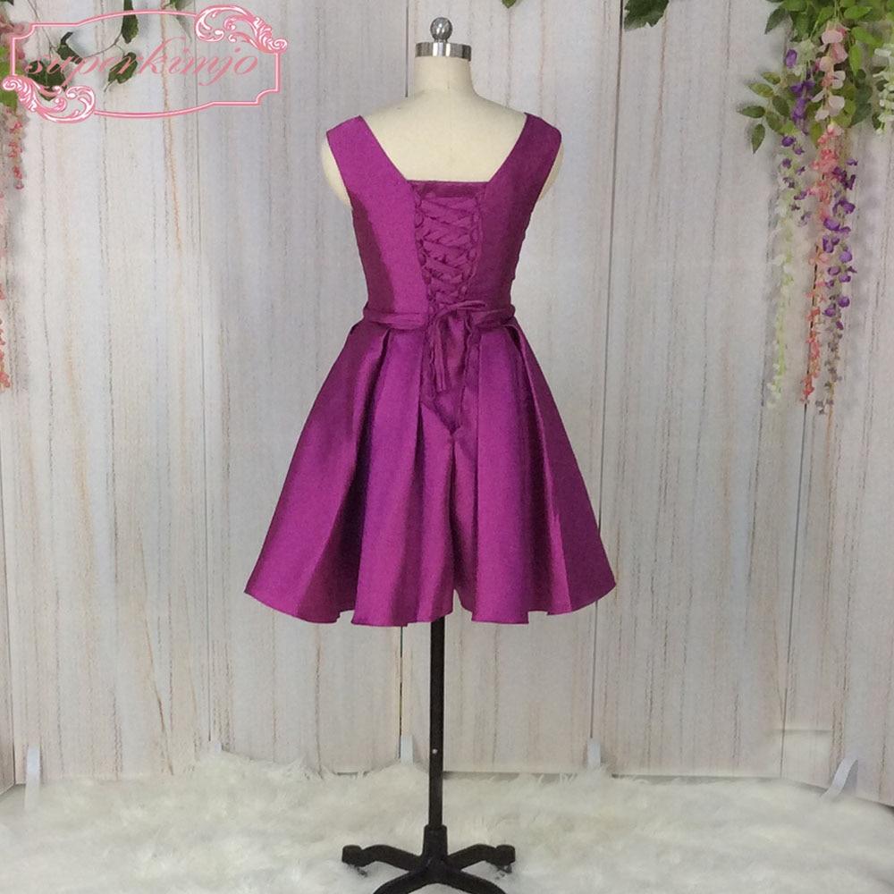 Superkimjo púrpura Vestidos de dama de honor del banquete de boda ...