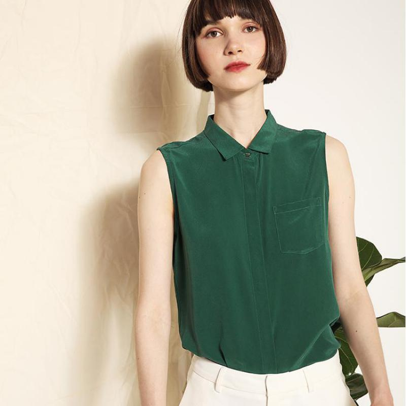 Sleeveless Blouses Tops Thin