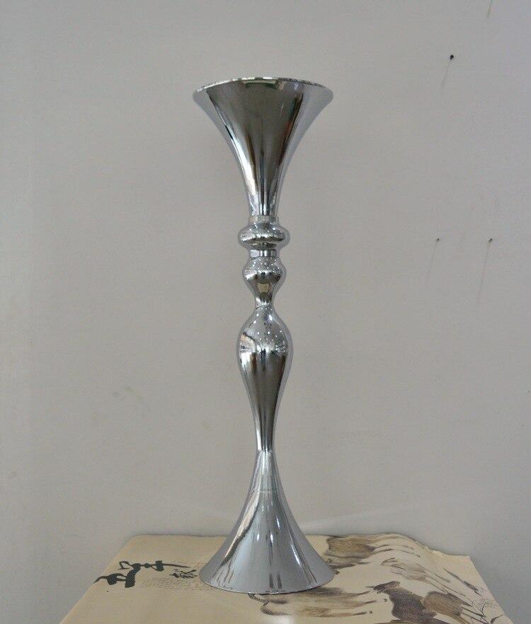 88cm visok srebrni cvijet vaza / cvijet europskog stila dekoracija - Za blagdane i zabave - Foto 2