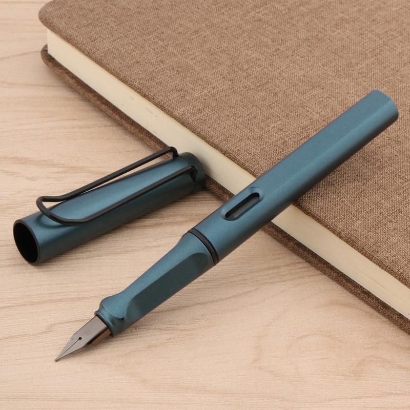 Popular HOT OFFICE Fashion Plastic Matte GREEN EF Gift Fountain Pen