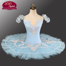 Blue Professional Tutu LD0005 Ballet Performance Classical Adult  Dancewear