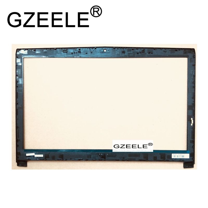 GZEELE NEW FOR MSI GL72 GP72 LCD Display Bezel cover LCD Screen Front case black new laptop lcd display front screen back cover bezel