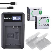 2Pcs NP-BG1 FG1 NP BG1 Battery + LCD USB Charger for SONY Cyber-shot DSC-H3 DSC-H7 DSC-H9 DSC-H10 DSC-H20 DSC-H55 DSC-H70 Camera