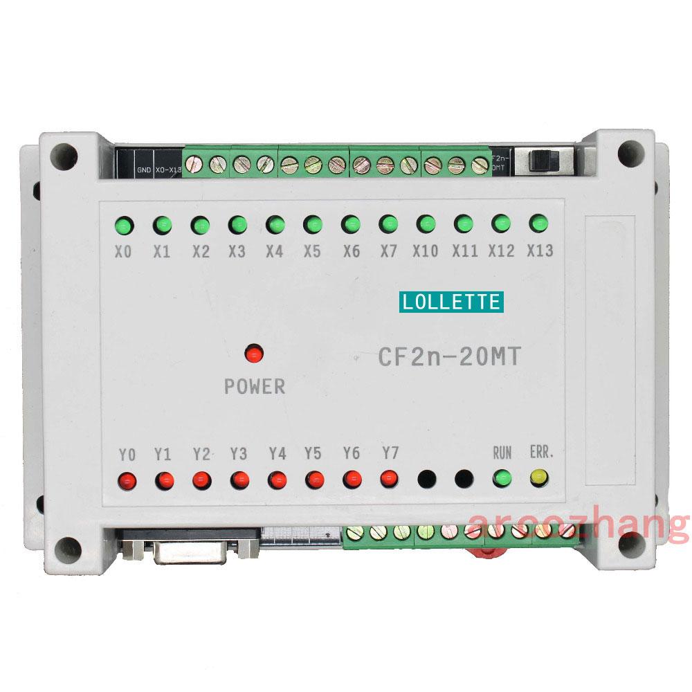 FX2N CF2N 20MT programmable logic controller 12 Input 8 Transistors Output plc controller automation controls plc system fx3sa 20mt cm