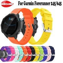 Strap For Garmin Forerunner 245/245M/645 band 20mm Sport Silicone belt Bracelet Vivoactive 3 Watch Accessories
