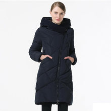 2018 Winter Women Down Jacket And Coat Medium Length Female Thick Warm Hooded Down Parka Windproof Overcoat Plus Size 5XL 6XL(China)