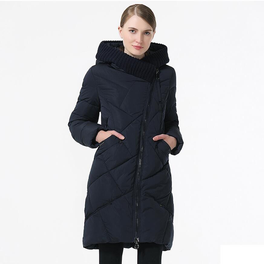2019 de las mujeres de invierno chaqueta y abrigo de longitud media Mujer grueso cálido con capucha chaqueta a prueba de viento abrigo Plus tamaño 5XL 6XL