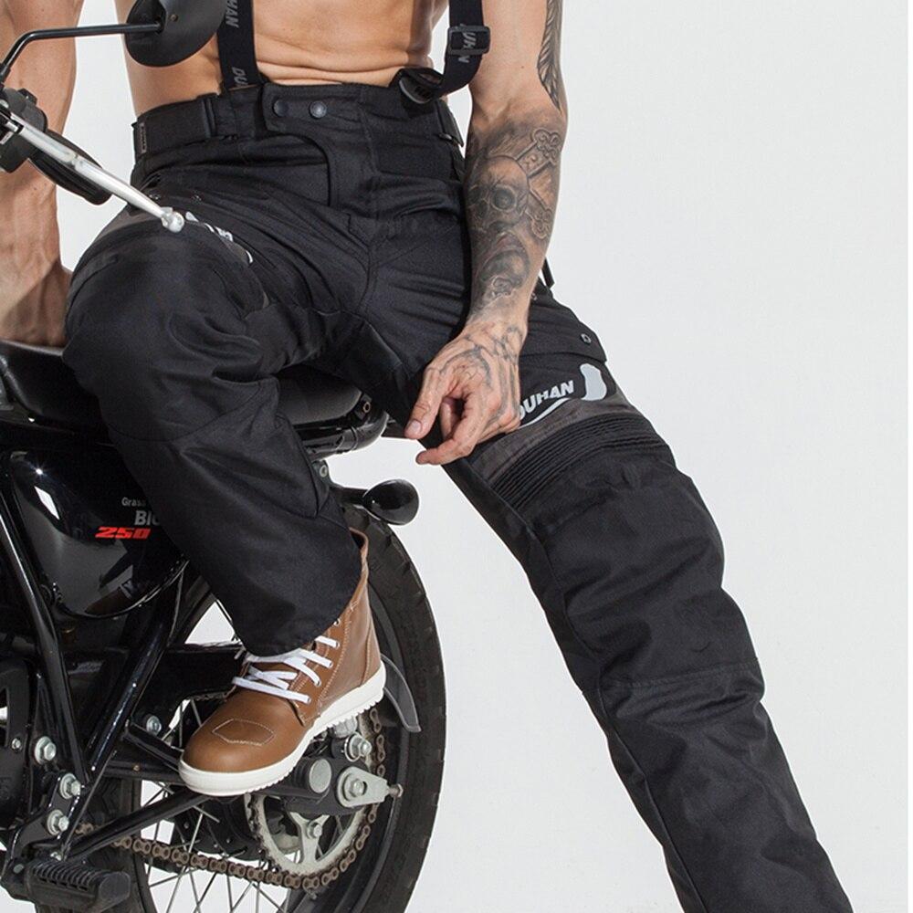 DUHAN Men's Motorcycle Pants Motocross Winter Moto Racing Pants Winter Waterproof Motorbike Trousers Motorbike Moto Pantalon