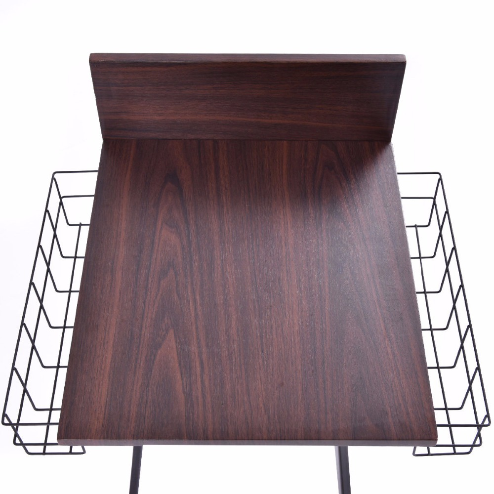 Goplus Multifunctional Sofa Side Table Living Room Tables
