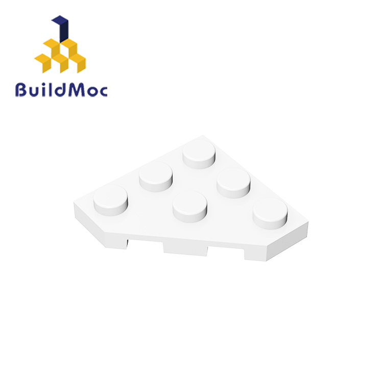 BuildMOC Compatible  With Assembles Particles 2450 3x3 For Building Blocks Parts DIY LOGO Educational Creative Gift Toys