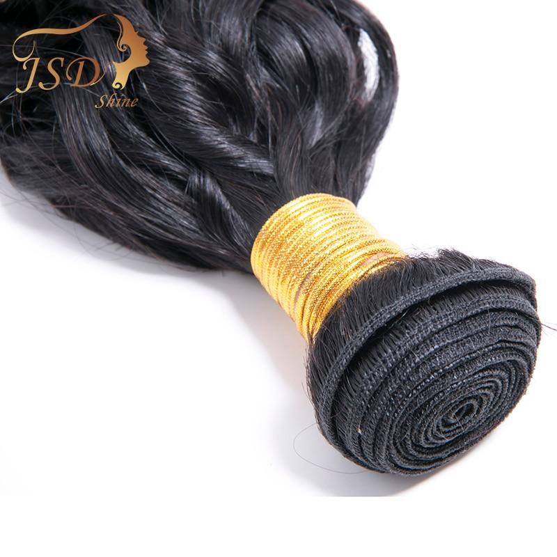 JSDShine Vietnamese Water Wave Human Hair 4 Bundles Deals Natural Color Water Wave Human Hair Bundles Hair Extentions
