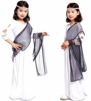 Girls Egyptian Cleopatra Costume Princess costume Halloween Purim Costume For Kids Role Play Party Cosplay Anime Clothing Set
