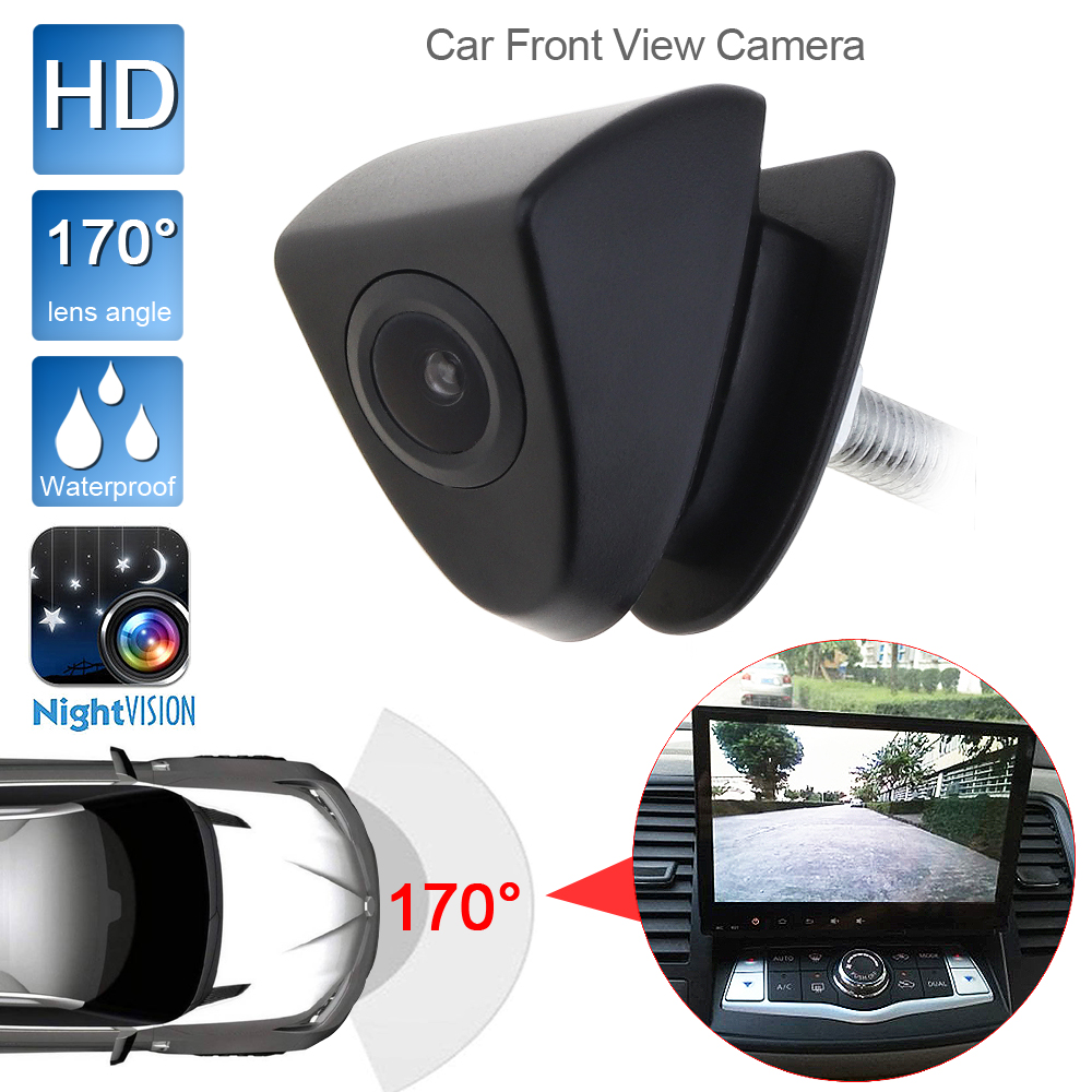 Front View Camera Logo Embedded 170° HD CCD for Toyota Pickup Tacoma 2016-2018