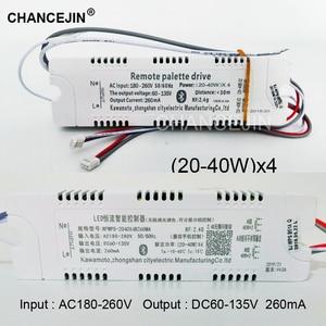 Image 3 - Dimming&color adjusting remote LED driver RF 2.4G LED transformer mobile phone app controller input:AC180 265V output:DC60 135V