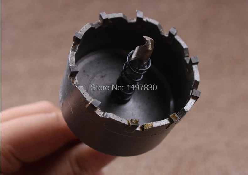Quality 85mm diameter TCT hole saw drill bits core bits for stainless steel drilling hole opener triangle shank 10-12mm diameter wholesale of 50pcs pack od 72mm tct hole saws core bits for ss &steel hard metal drilling hole opener triangle handle 10 12mm