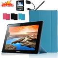 Роскошный Чехол Для Lenovo Ideatab A7600 A7600-F A7600-H A10-80 A10-70 10.1 Tablet Stand Кожаный Чехол Высокое Качество Фолио Обложка