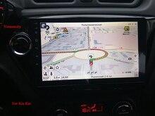 2 г Оперативная память Android 7.1 автомобиль DVD GPS плеер для Kia Rio K2 2010 2011 2012 в приборной панели радио видео плеер + 1024*600 Разрешение
