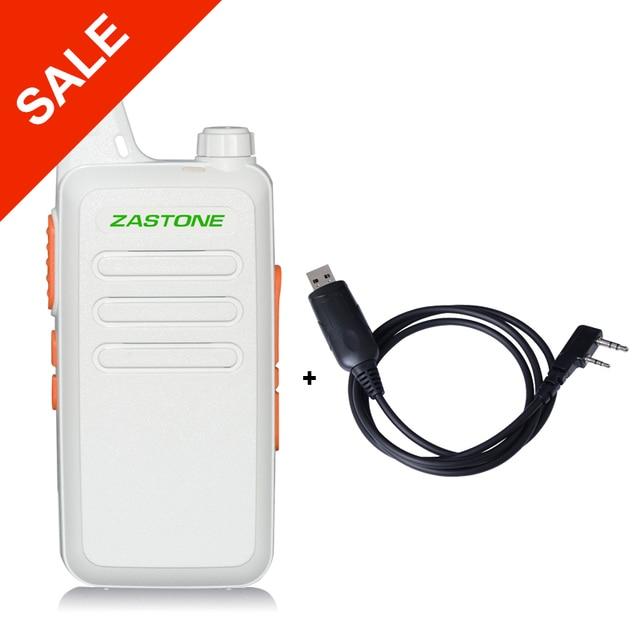 Zastone X6 Профессиональный 400-470 МГц UHF Ручной Радио Небольшой Портативный Рации Мини Двухстороннее Радиолюбителей Comunicador + кабель