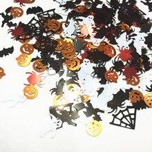 300 шт./лот новое поступление Хэллоуин Летучая мышь/призраки конфетти стол спринклеры принадлежности