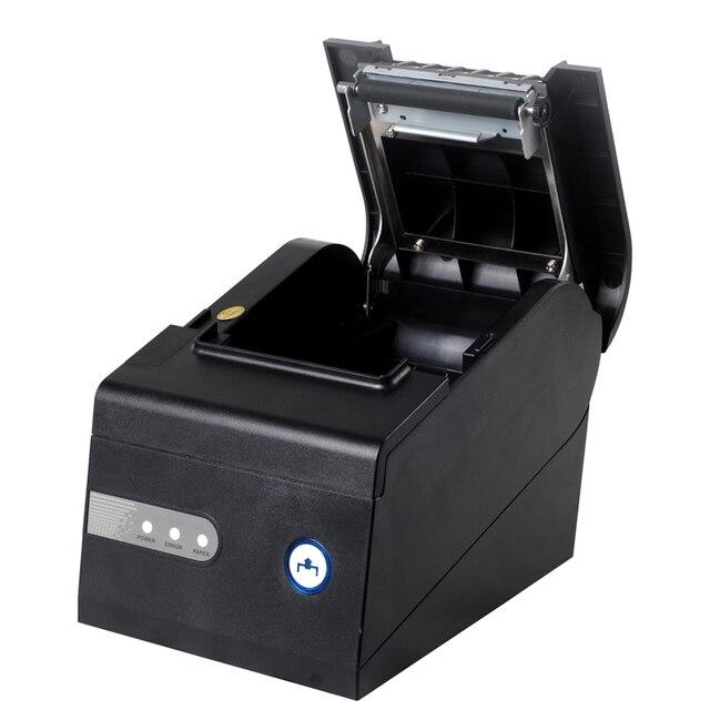 Бесплатная доставка 80 мм тепловая чековый принтер XP-C260K USB + RS232 + интерфейс ЛОКАЛЬНОЙ СЕТИ pos-принтера