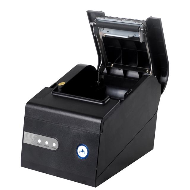 Envío libre 80mm XP-C260K USB + RS232 + interfaz LAN impresora térmica de recibos Pos impresora