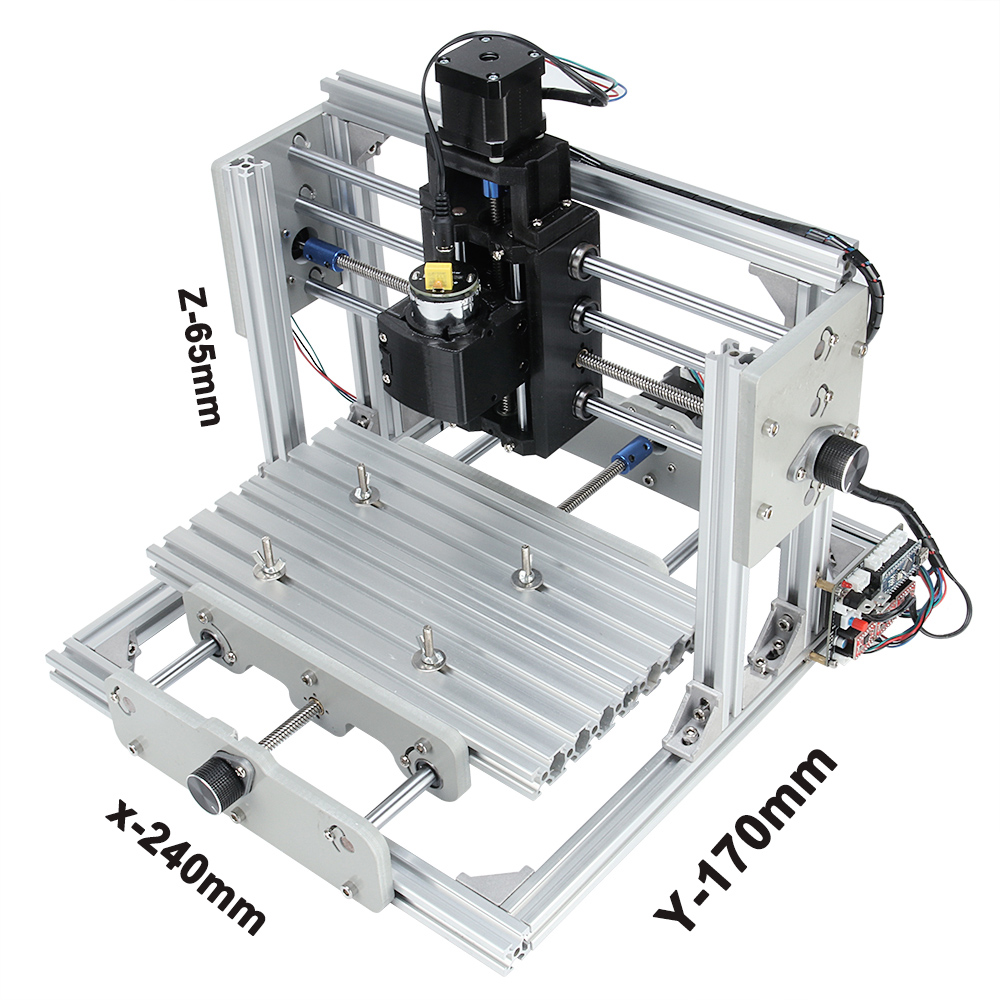 cnc 2417,diy cnc engraving machine,3axis mini Pcb Pvc Milling Machine,Metal  Wood Carving machine,cnc router,cnc2417,grbl control-in Wood Routers from  Tools ...