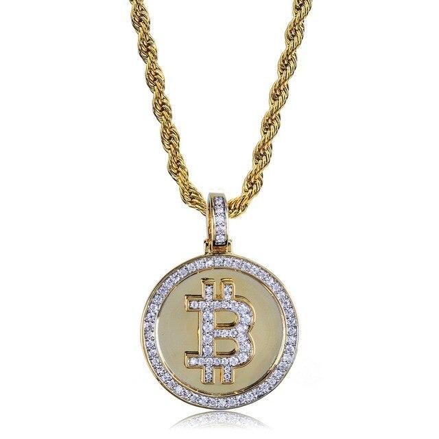 Bitcoin Bling Bling Pendant 1