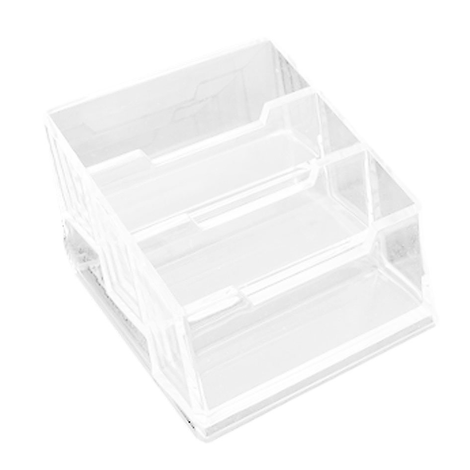 Affordable Plastic 3-Tier Design Clear B