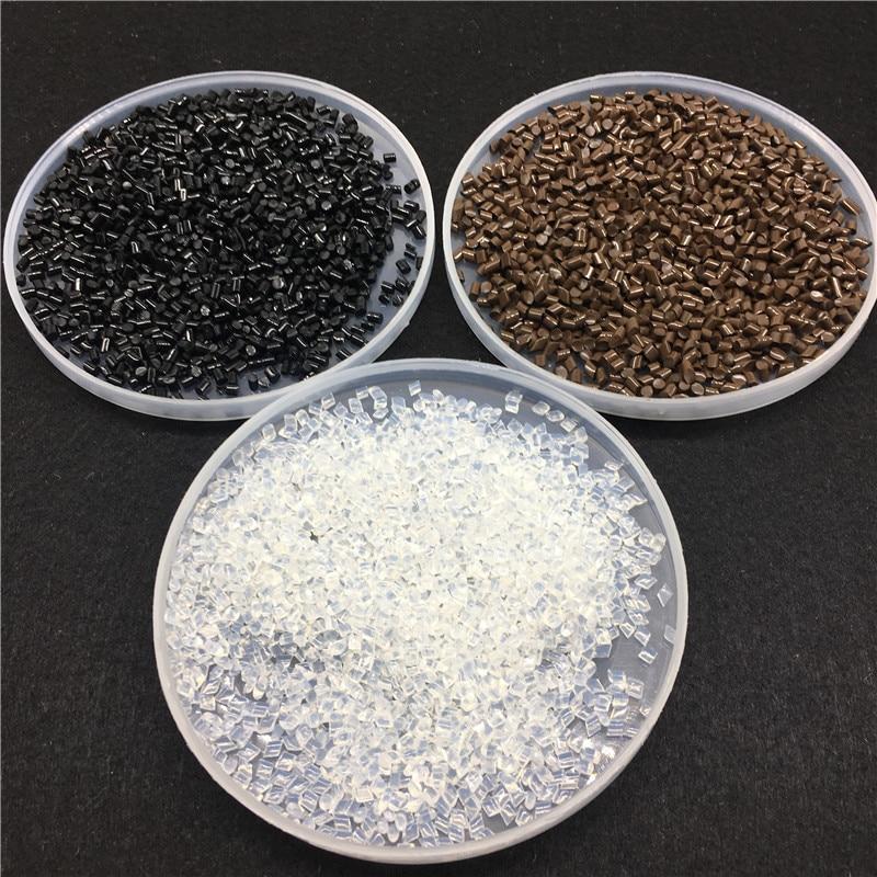 Black /Brown Color 100% Genuine Qulaity Italian Keratin Grain 100g Extra Strong Keratin Glue Grain Beads