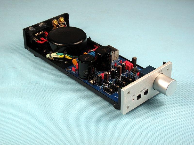 Kopie lehmann schaltplan E 01 Audio stereo Kopfhörer verstärker Dual ...