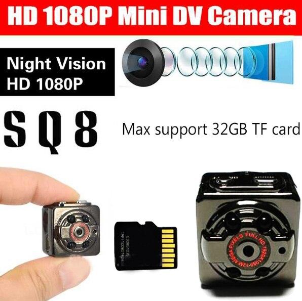 8GB Card+Mini Camera DVR Loop Video Recorder Infrared Night Vision DV Full HD 1080P Webcam Motion Detect8GB Card+Mini Camera DVR Loop Video Recorder Infrared Night Vision DV Full HD 1080P Webcam Motion Detect