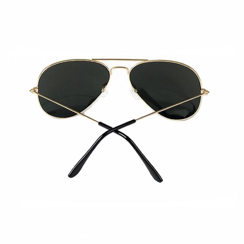 5daf184ca11e5 Mirrored Sunglasses For Men   Women Alloy Gold Frame Colored Mirror Lens  Unisex UV400 Cheap Glasses Eyewear For Sale-in Sunglasses from Apparel  Accessories ...