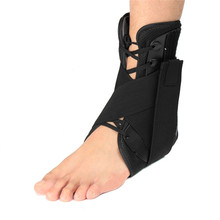 New Arrival Ankle Brace Stabilizer Support Sports Football Compression Medical Adjustable Lace Up Ankle Socks Protector Orthosis