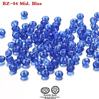 1mm Color 6 Light Blue Rondelle Crystal Beads,Loose DIY Jewelry Making Beads,2000pcs spacer crystal beads 13 Color U Pick