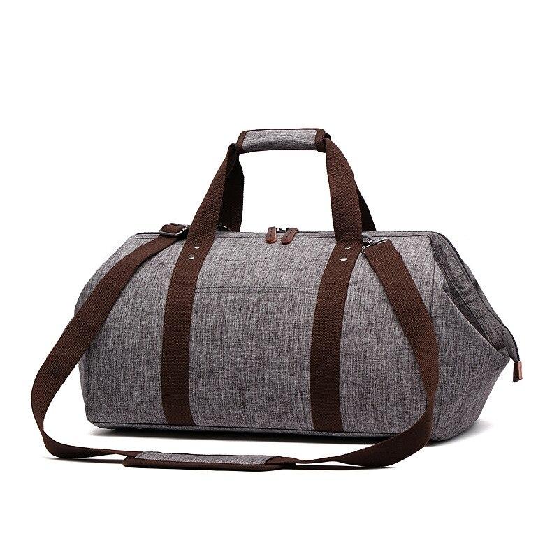 Imperméable à l'eau grand sac de voyage épaule Portable gros sacs de voyage organisateur de voyage sac de week-end emballage Cubes sacs de nuit hommes fourre-tout