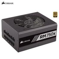 Corsair RM750x 100V 240V 750W Computer Fully Modular Power Supply 750 Watts Desktop Multi Graphics Card