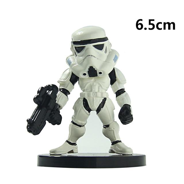 Star Wars Action Figure Models Darth Vader Stormtrooper Boba Fett Toy