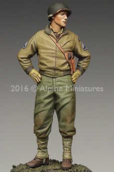1:35 米国 3rd 機甲師団スタッフ軍曹