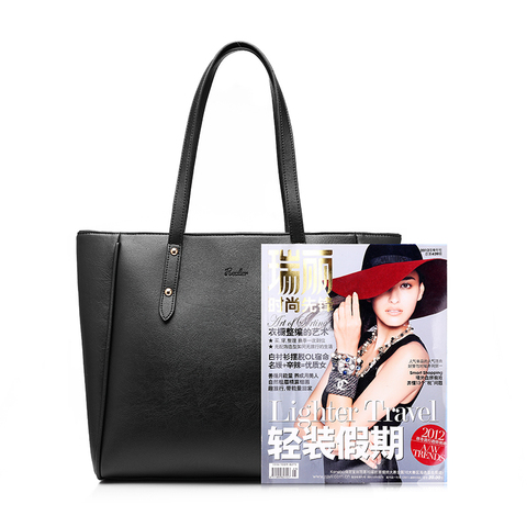 REALER bag sets women handbag casual artificial leather tote bag large shoulder bags+ladies solid handbags+small purse Karachi