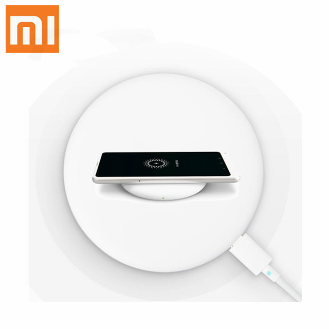 Original Xiaomi Wireless Charger Qi Smart Quick Charge Type C Fast wireless Charger USB
