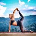 Черный Серый Синий Длинный Фитнес Леггинсы Женщины Высокой Талией Тренировки Эластичный Mesh Брюки 2017 Тонкий Jogger Сексуальные Упражнения Брюки Mujer