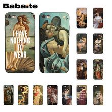 Babaite Art Paintings The Birth Of Venus Phone Case for iphone 11 Pro 11Pro Max 8 7 6 6S Plus X XS MAX 5 5S SE XR Fundas