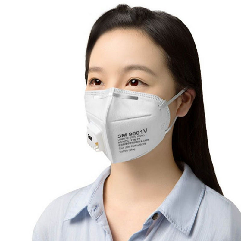 Image 2 - 3M 9001V KN90 Vent Anti dust Masks Anti PM2.5 Industrial Construction Dust Pollen Haze Gas Family&Pro Site Protection Tool-in Masks from Security & Protection