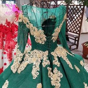 Image 5 - AIJINGYU ガーデンウェディングドレス白ガウンプラスサイズイスラム教徒高級新 Dres ゴシックゴージャスなウェディングドレス価格
