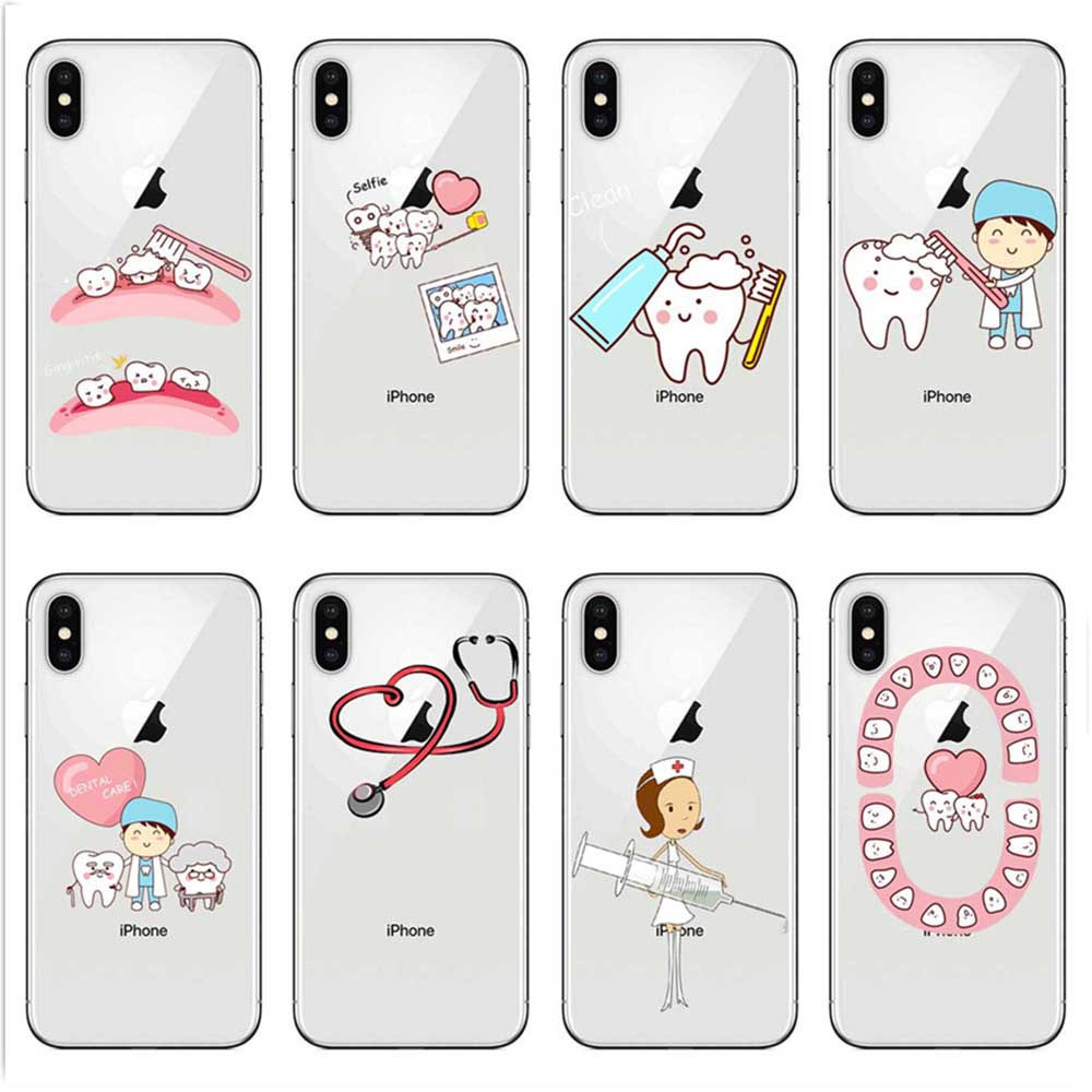 In Design; Maiyaca Nurse Doctor Dentist Stethoscope Tooth Injections Phone Case For Samsung Galaxy S9 Plus S7 Edge S6 Edge Plus S5 S8 Plus Novel