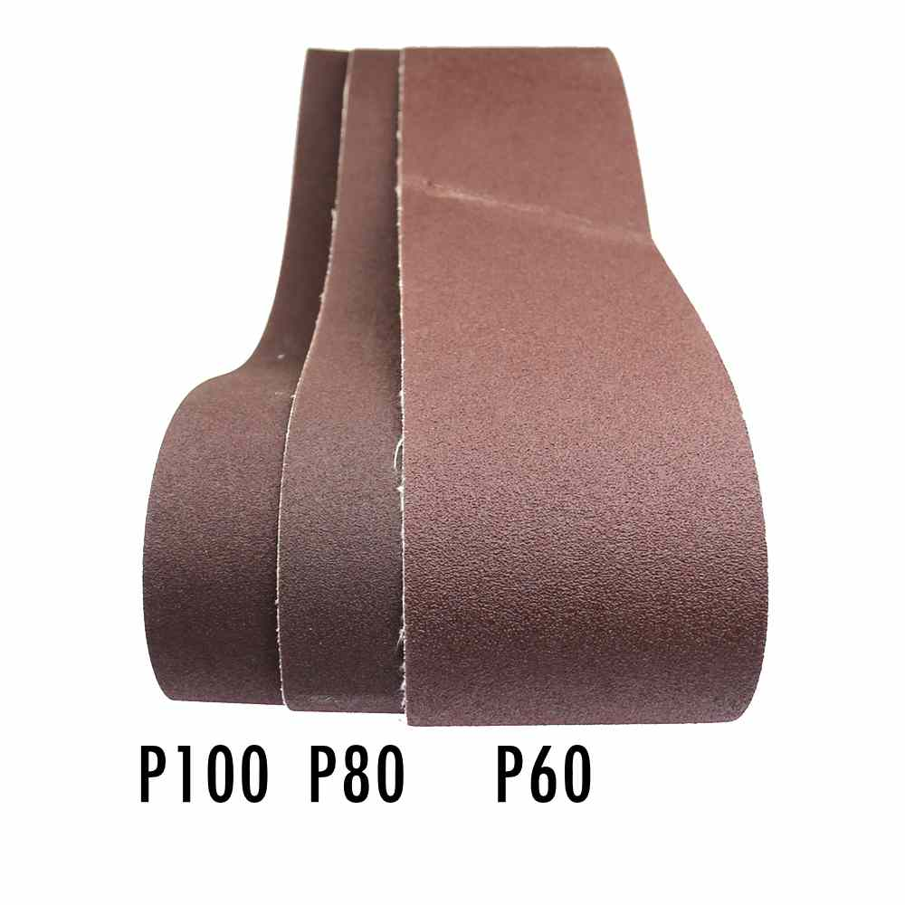 "915*100mm A/O Sanding Belt P60-P800 For Coarse Grinding Fine Polishing  4"" * 36"" Abrasive Bands"