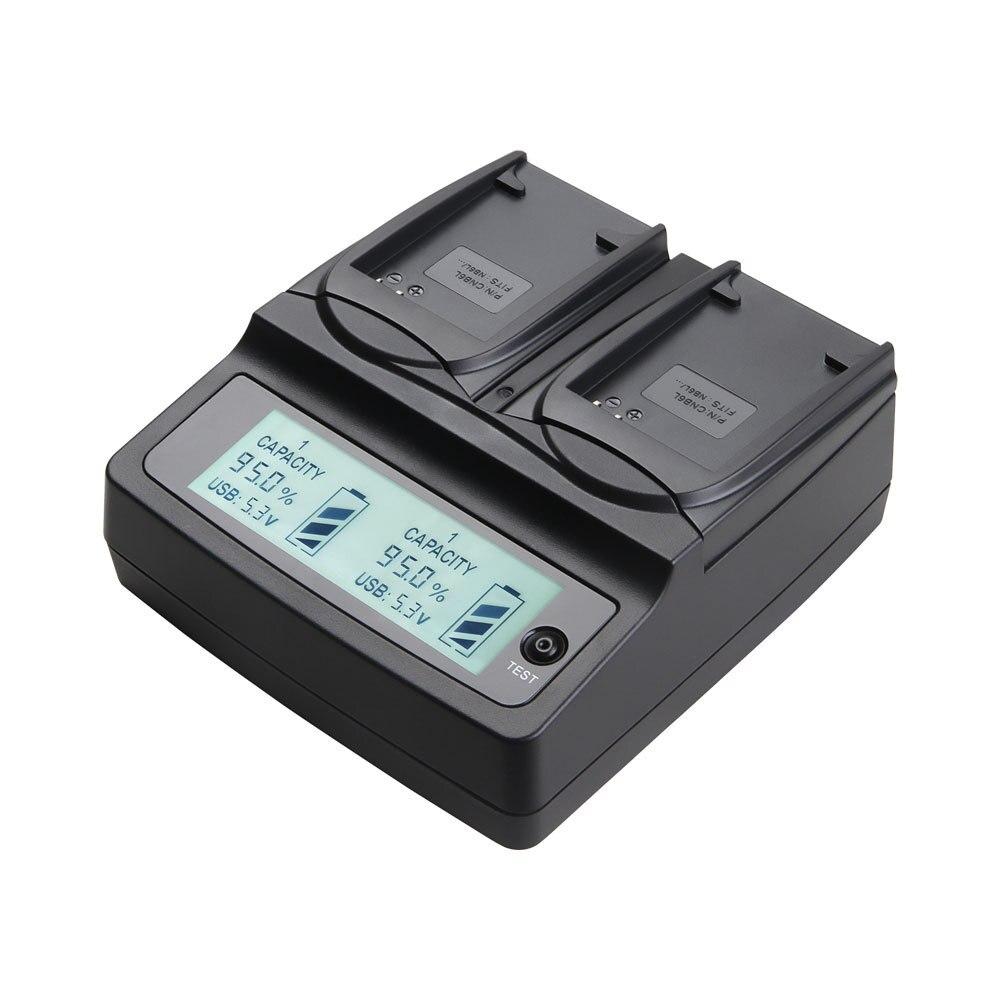 Udoli NB6L NB-6L NB 6L Double Chargeur De Batterie pour Canon IXUS 310 SX240 SX275 SX280 SX510 SX500 HS 95 200 105 210 300 S90 S95