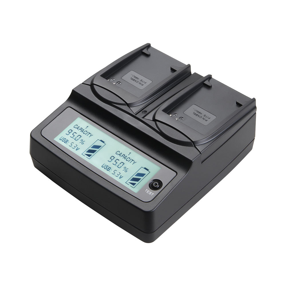 Udoli Nb6l Nb 6l Nb 6l Dual Battery Charger For Canon Ixus